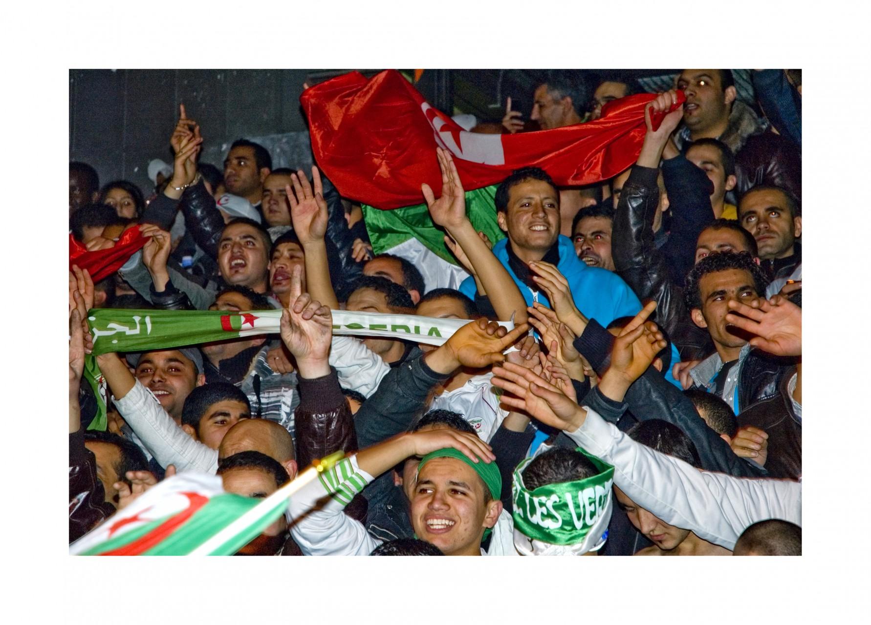 Manifestation sportive à Barbes - France