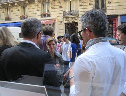 """Vernissage exposition """"Re-Load"""" Paris."""
